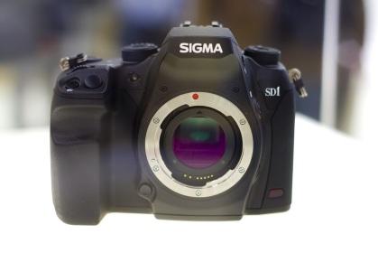 Sigma SD1 auf der Photokina 2010.